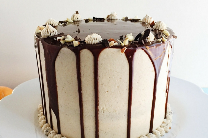 Italian Cannoli Cake With Rum And Chocolate Ganache Italian Cannoli Cake With Rum And Chocolate Ganache - Parsnips And Pastries