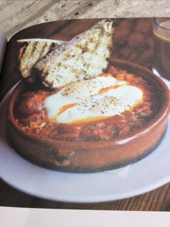 Shakshuka With Baked Eggs