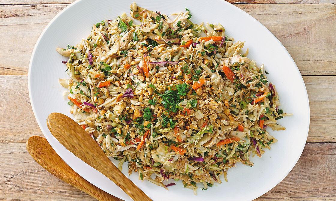 Thai Time Crunch Chicken Salad