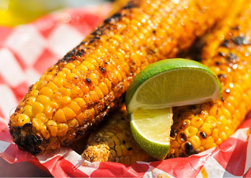Grilled Corn With Lime