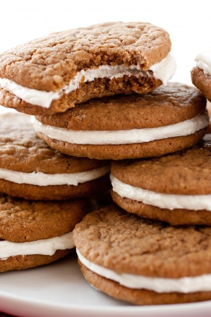 Oatmeal Cream Pies {Little Debbie Upgrade} - Cooking Classy