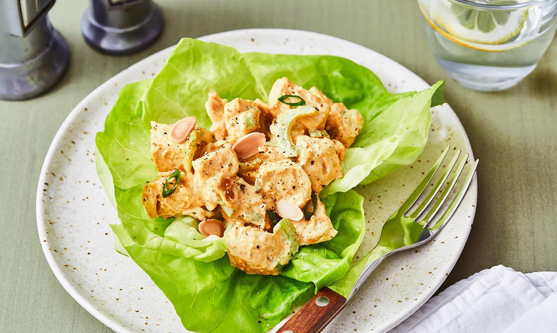 Keto Curried Chicken Salad