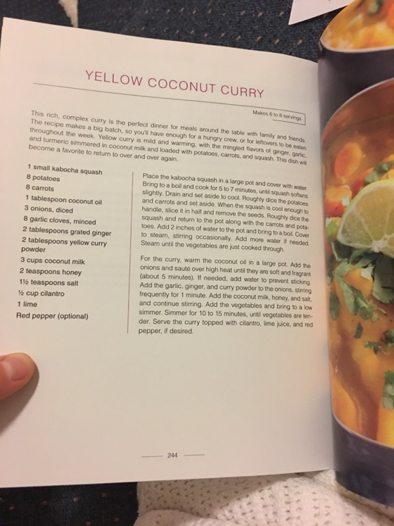 Yellow Coconut Curry