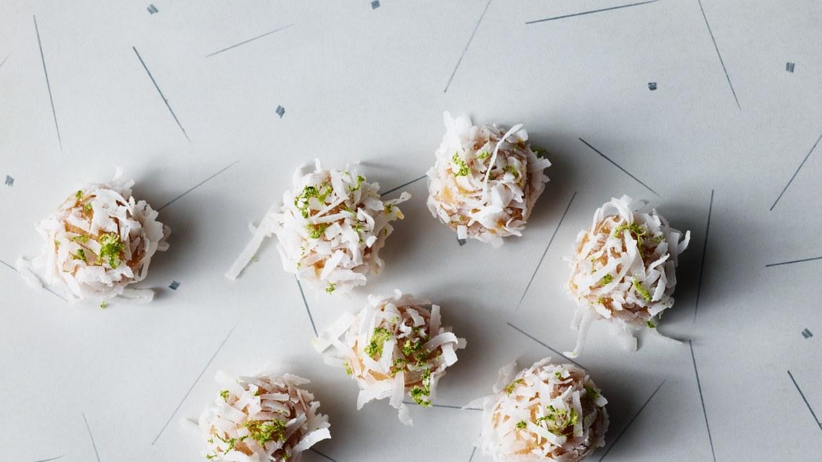 Coconut-Lime Snowballs Recipe