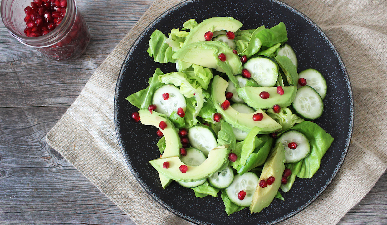 Healthy Green Alkaline Salad