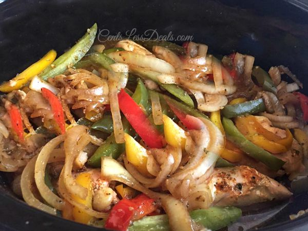 Crockpot Chicken Fajitas Recipe - Centsless Deals
