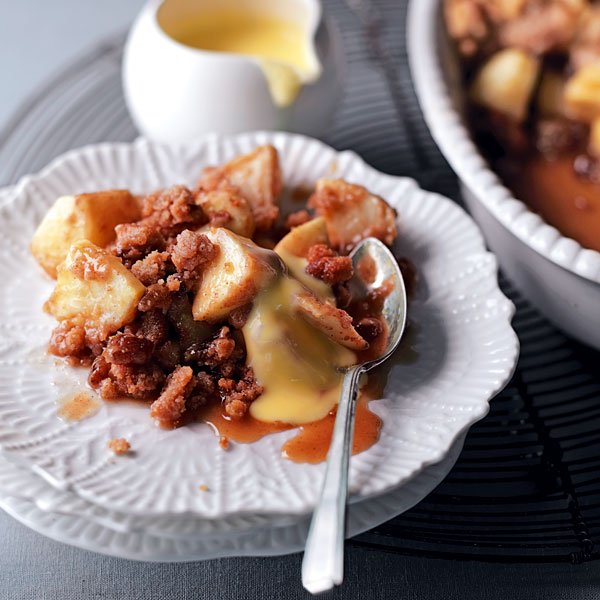 Apple cinnamon crumble - delicious. magazine
