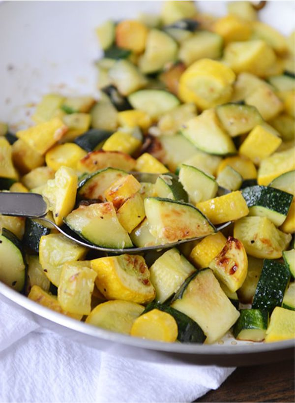 Food Recipes: Skillet Zucchini And Yellow Squash