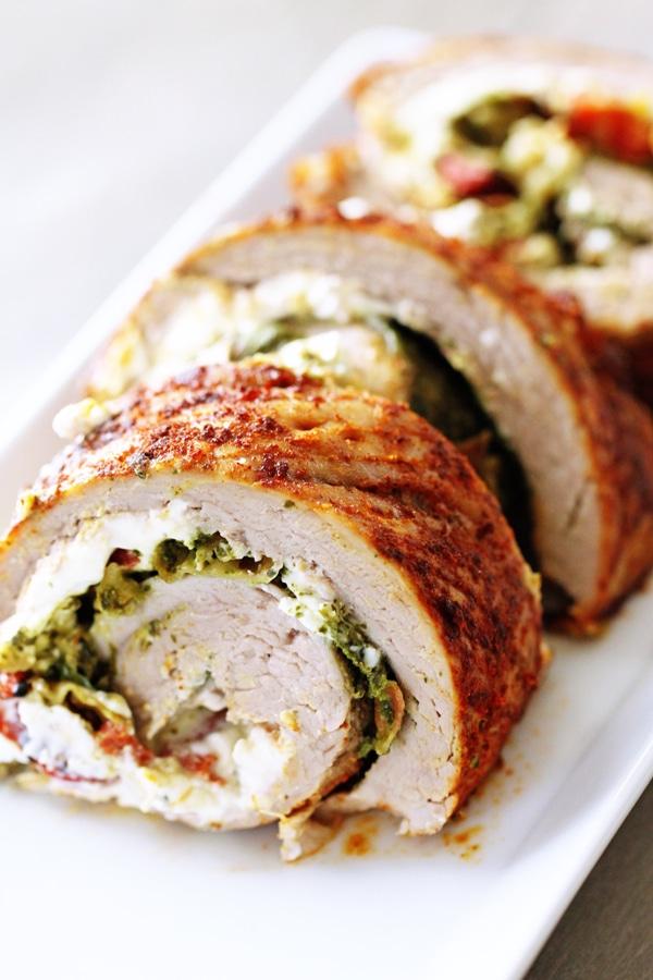 Pork Tenderloin: Italian Stuffed