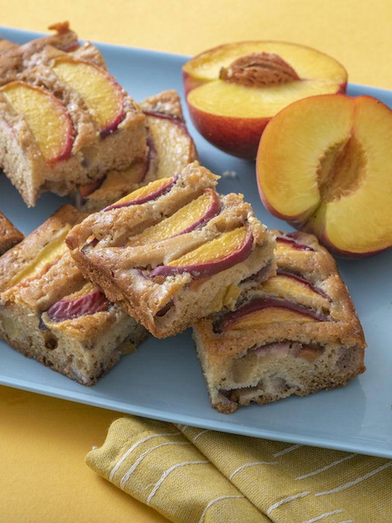 Peach Snack Cake | Weelicious