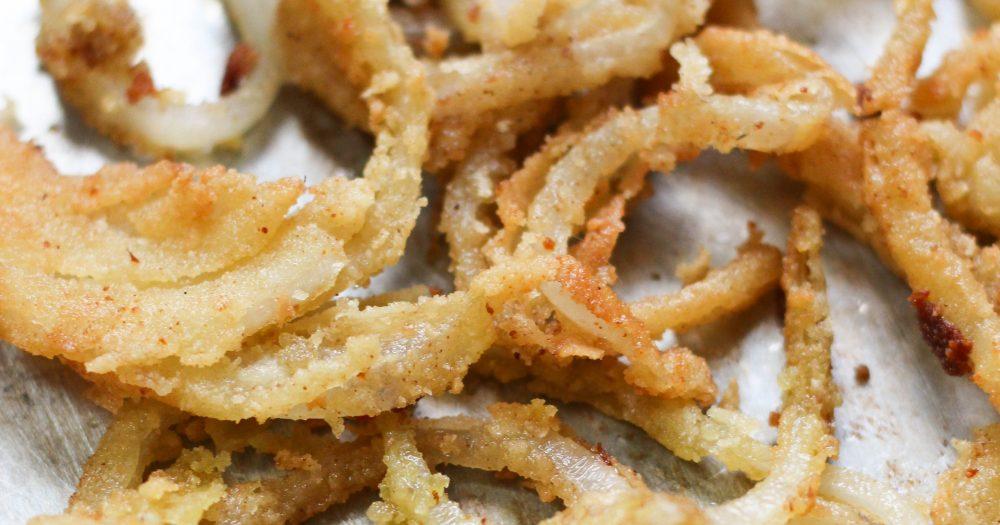 Paleo & Vegan French Fried Onions