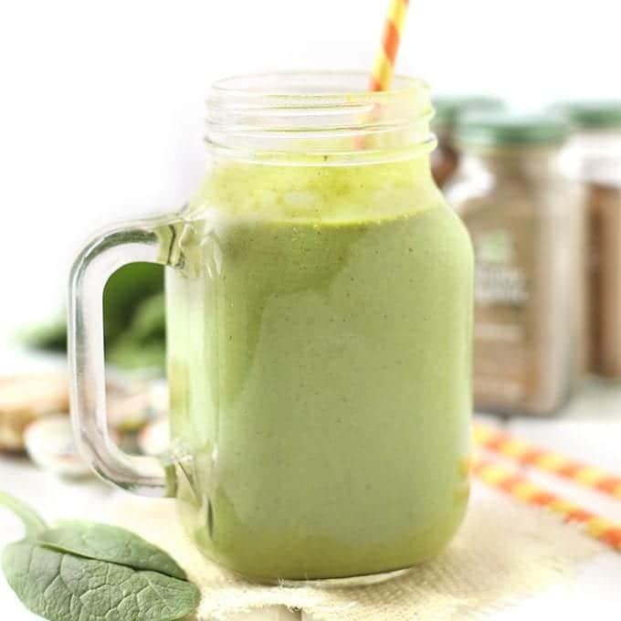 Almond Chai Green Smoothie
