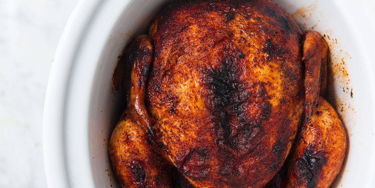 Whole Chicken: Slow Cooker Rotisserie