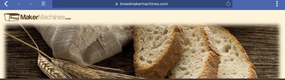 Full Bread Maker Machines Recipe List