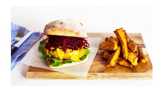Veggie Burger - I Quit Sugar