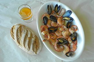 Shellfish In German Beer Broth