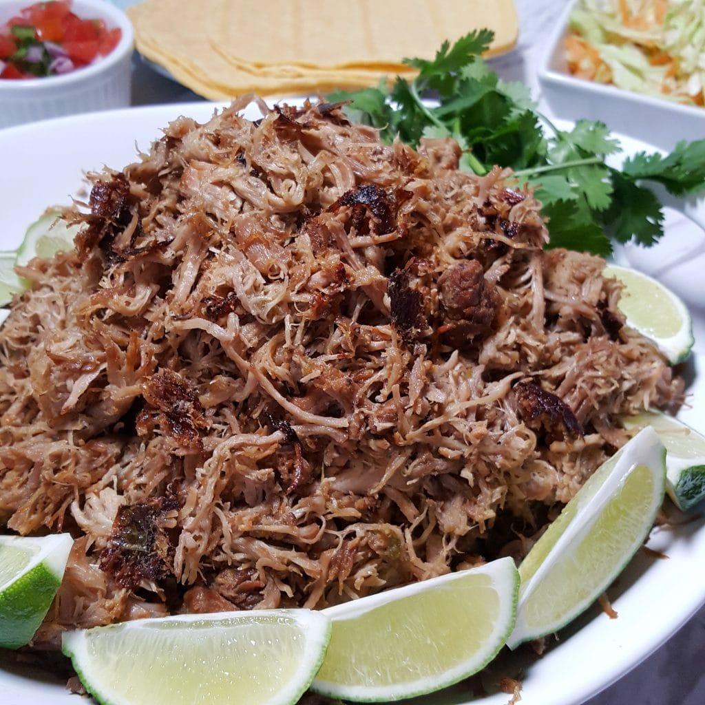 Pressure Cooker Pork Carnitas {Crispy Mexican Pulled Pork}