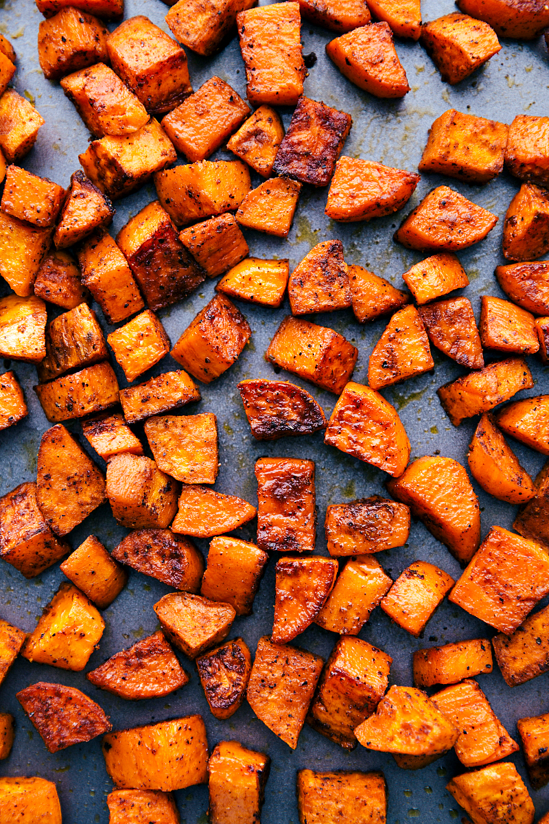 Roasted Sweet Potatoes | Chelsea's Messy Apron