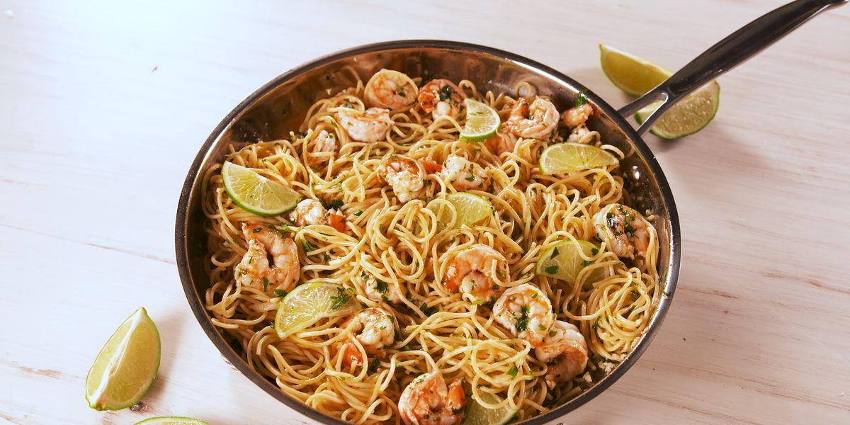 Shrimp: Cilantro-Lime Shrimp Pasta