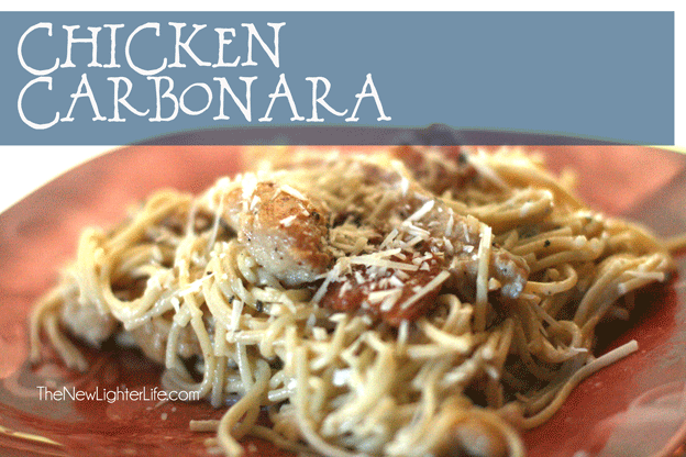 Chicken Carbonara Recipe- THM S