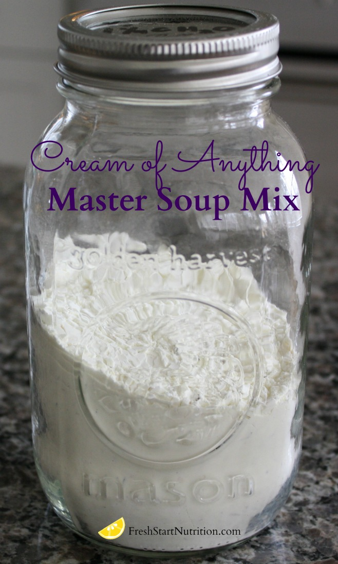 Recipe: DIY Homemade Cream of Anything Soup - Fresh Start Nutrition