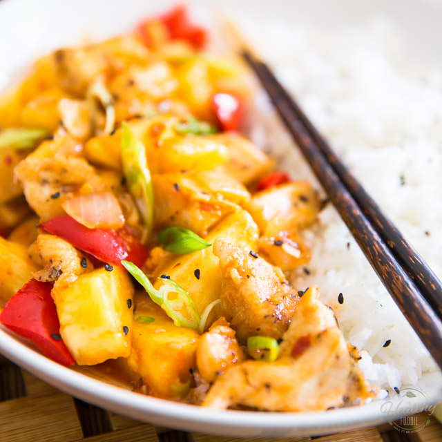 Pineapple Chicken 'Sweet And Sour'