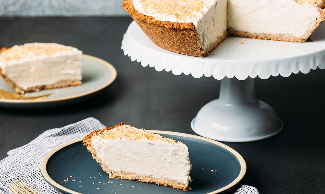 Delicious Keto Coconut Cream Pie