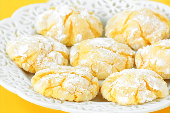 Easy Lemon Cookies Recipe | Gimme Some Oven