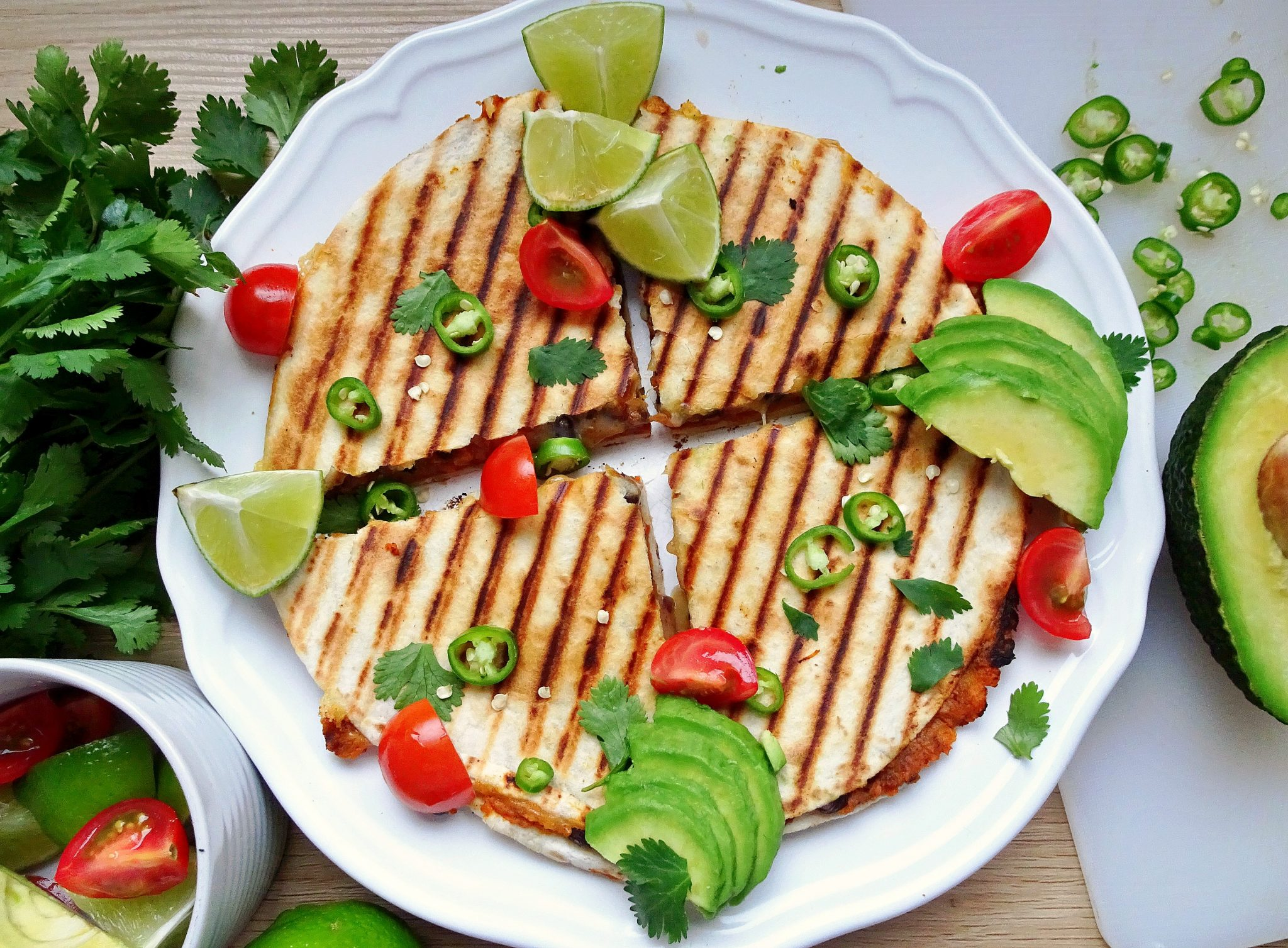 Sweet Potato and Black Bean Quesadillas | Don't Go Bacon My Heart