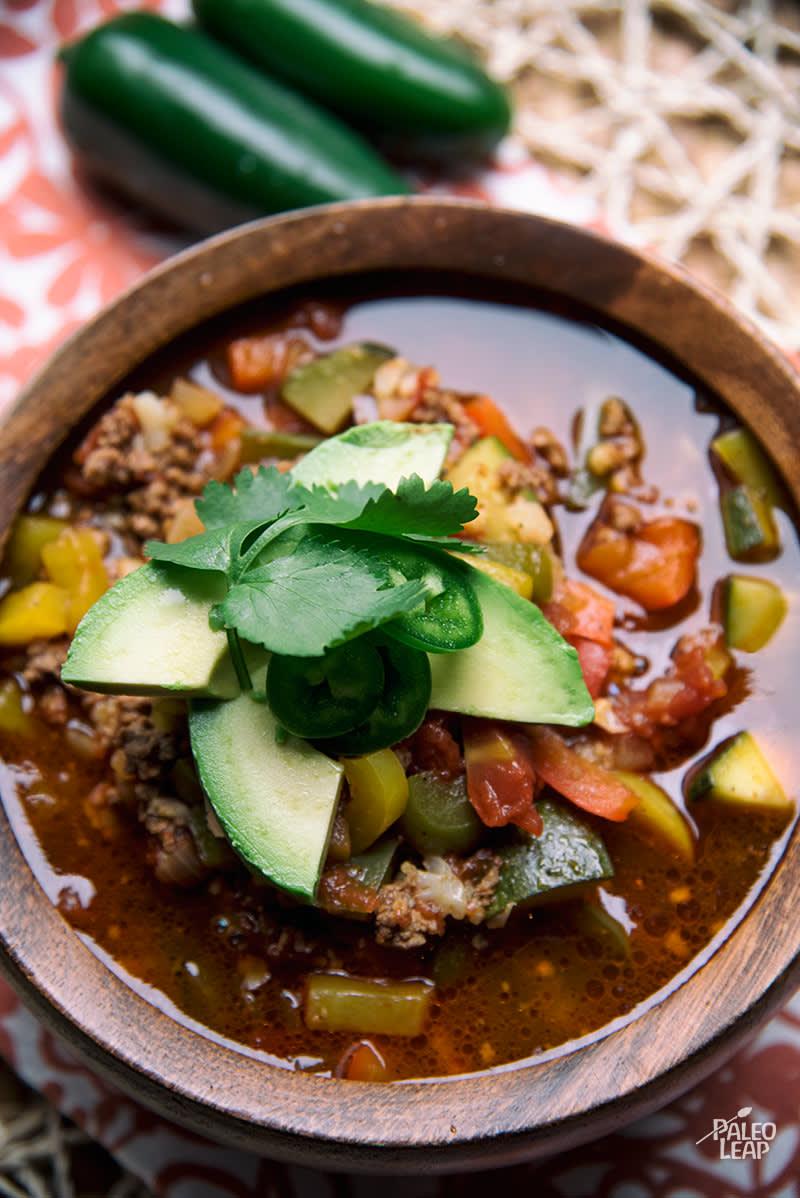 Paleo Taco Soup | Paleo Leap