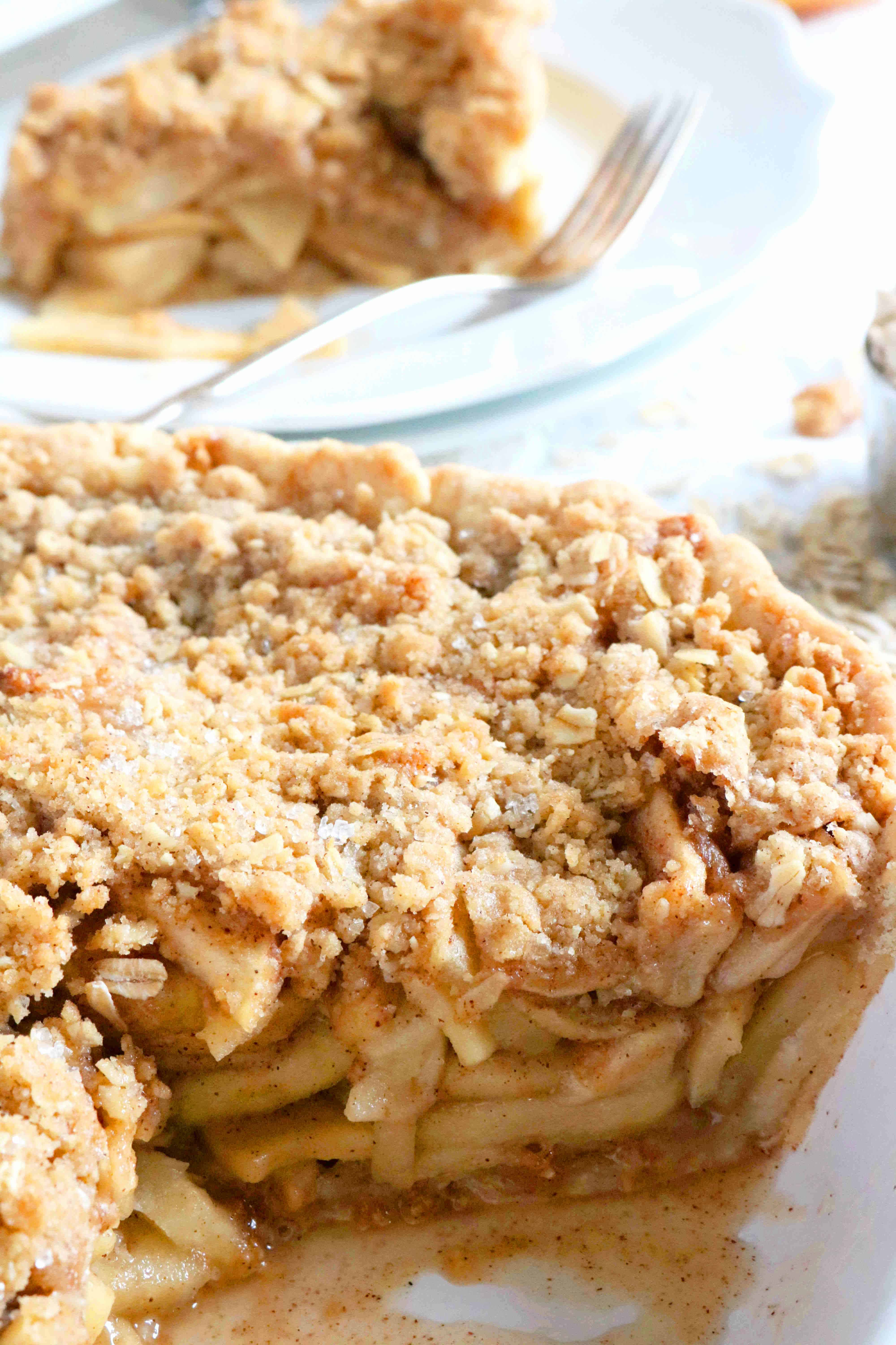 Apple Crisp Pie | The Anthony Kitchen