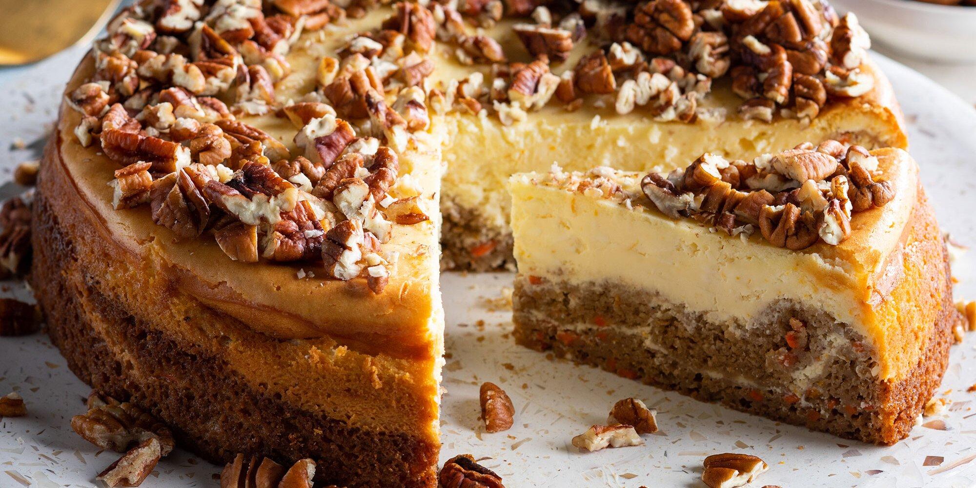 Cheesecake: Carrot Cake Cheesecake