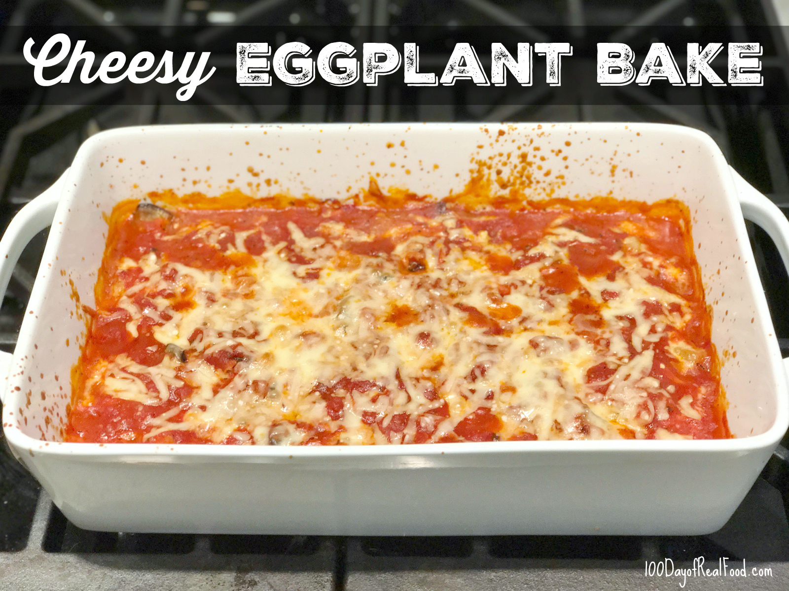 Cheesy Eggplant Bake