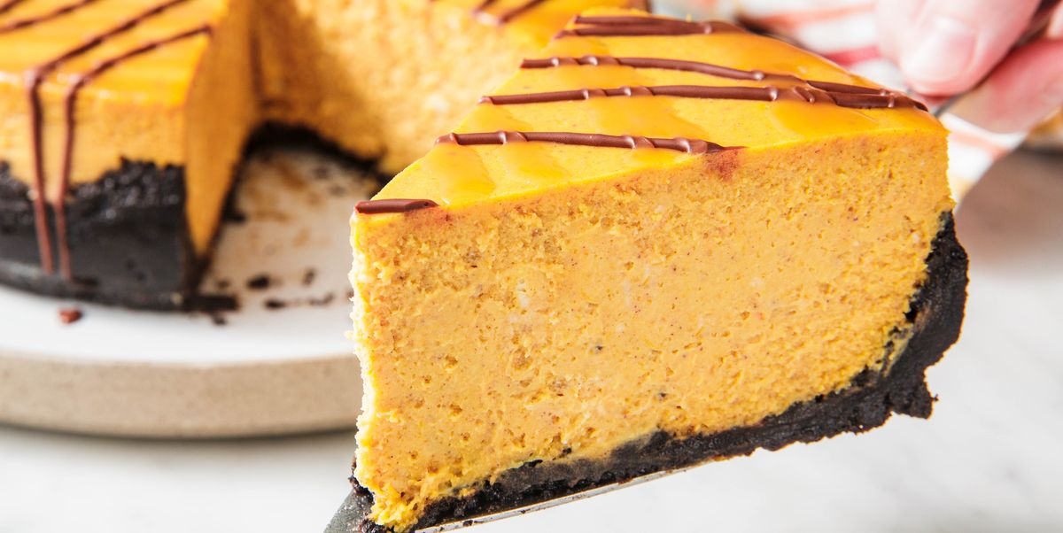 Chocolate Pumpkin Cheesecake Is So Much Better Than Pumpkin Pie
