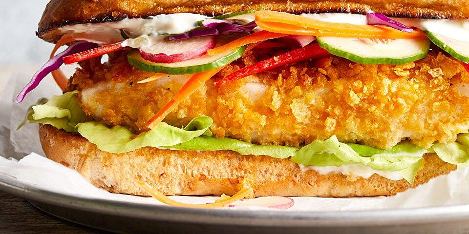 Crispy Cod Sandwich
