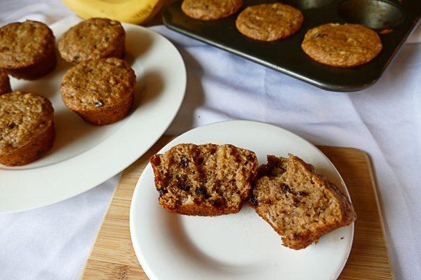 Banana Muffins (Oil-Free, Wfpb, Vegan) • Faithful Plateful Banana Muffins (Oil-Free, Wfpb, Vegan)