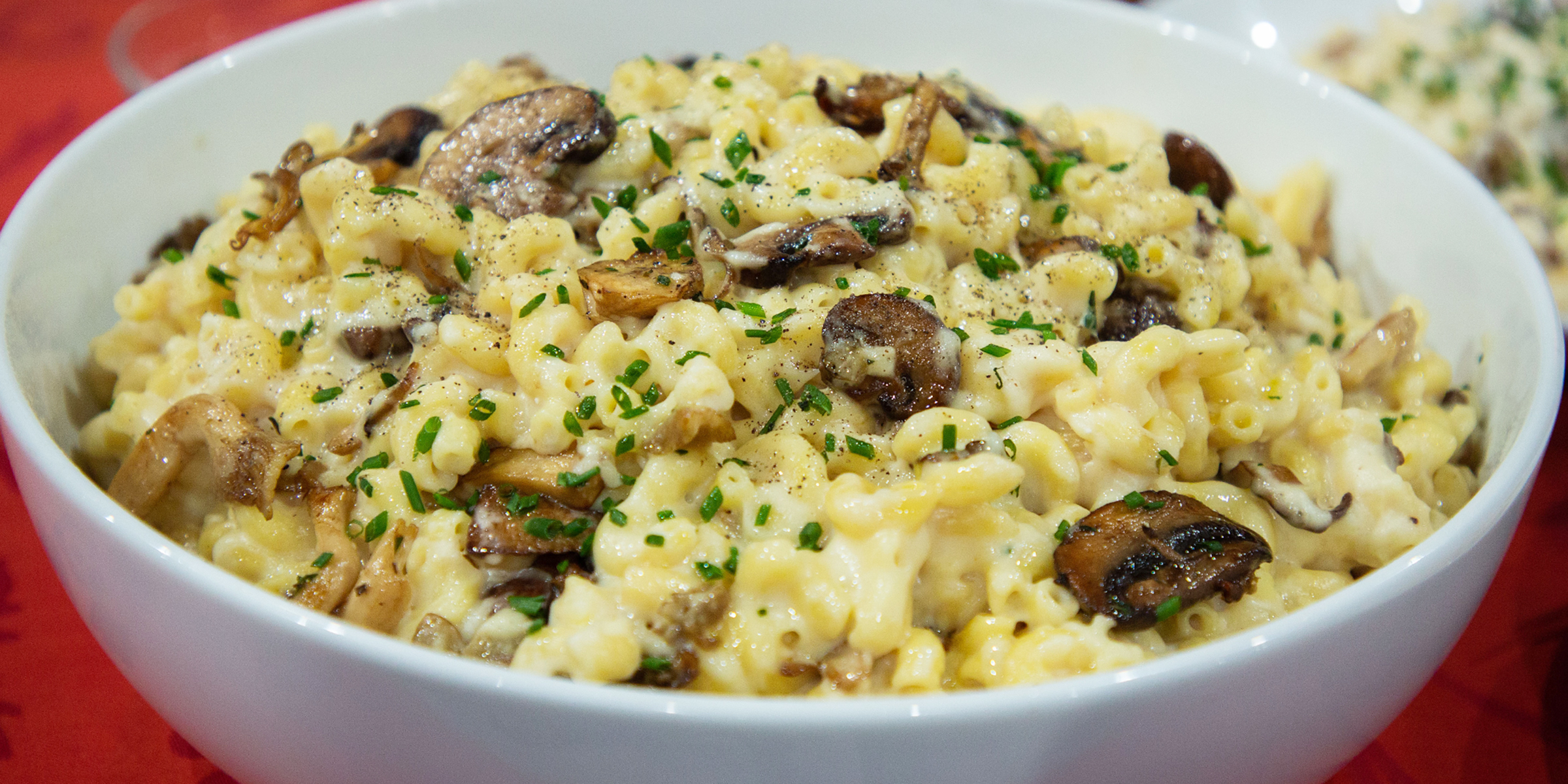 Mac And Cheese Grows Up With Creamy Gruyère And Savory Mushrooms