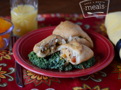 Santa Fe Breakfast Pockets | Once A Month Meals