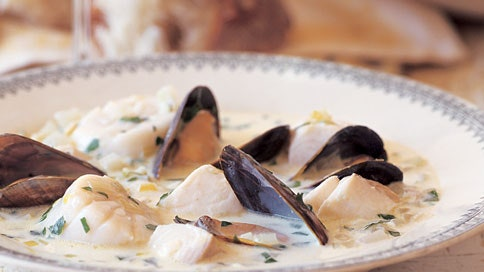 Seafood Stew With Fennel And Thyme