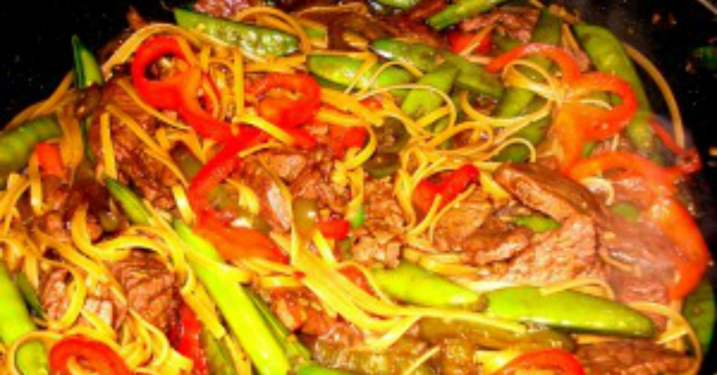 Sweet-N-Spicy Beef And Noodles Freezer Meal Recipe
