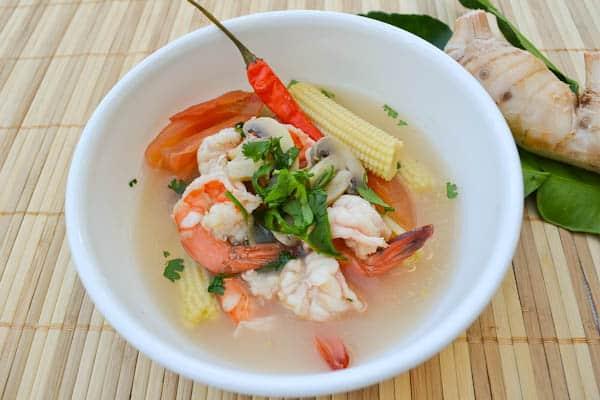 Lemongrass Shrimp Soup (Tom Yum Goong) - Salu Salo Recipes