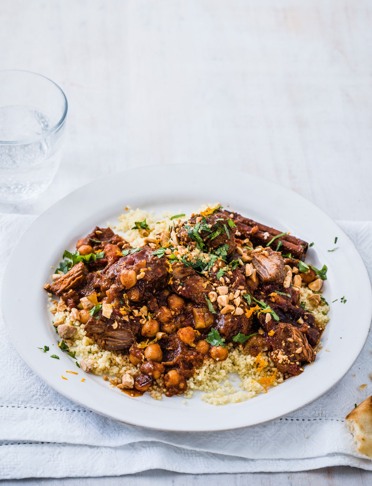 Lamb, Apricot & Chickpea Tagine Recipe