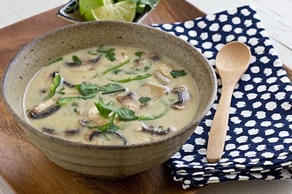 Coconut-Lime Tofu Soup