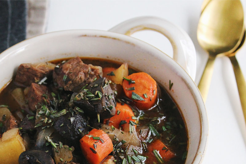 Slow-Cooker Paleo Beef Stew - Parsnips And Pastries