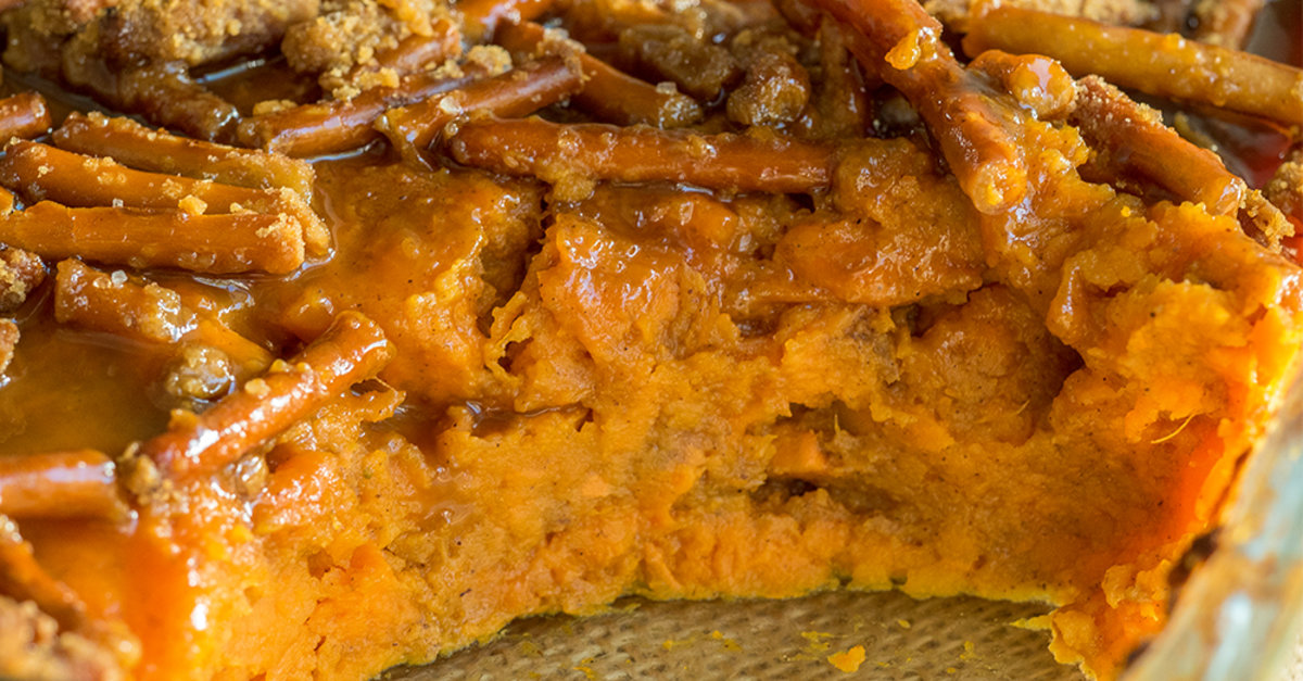 Caramel Sweet Potato Casserole