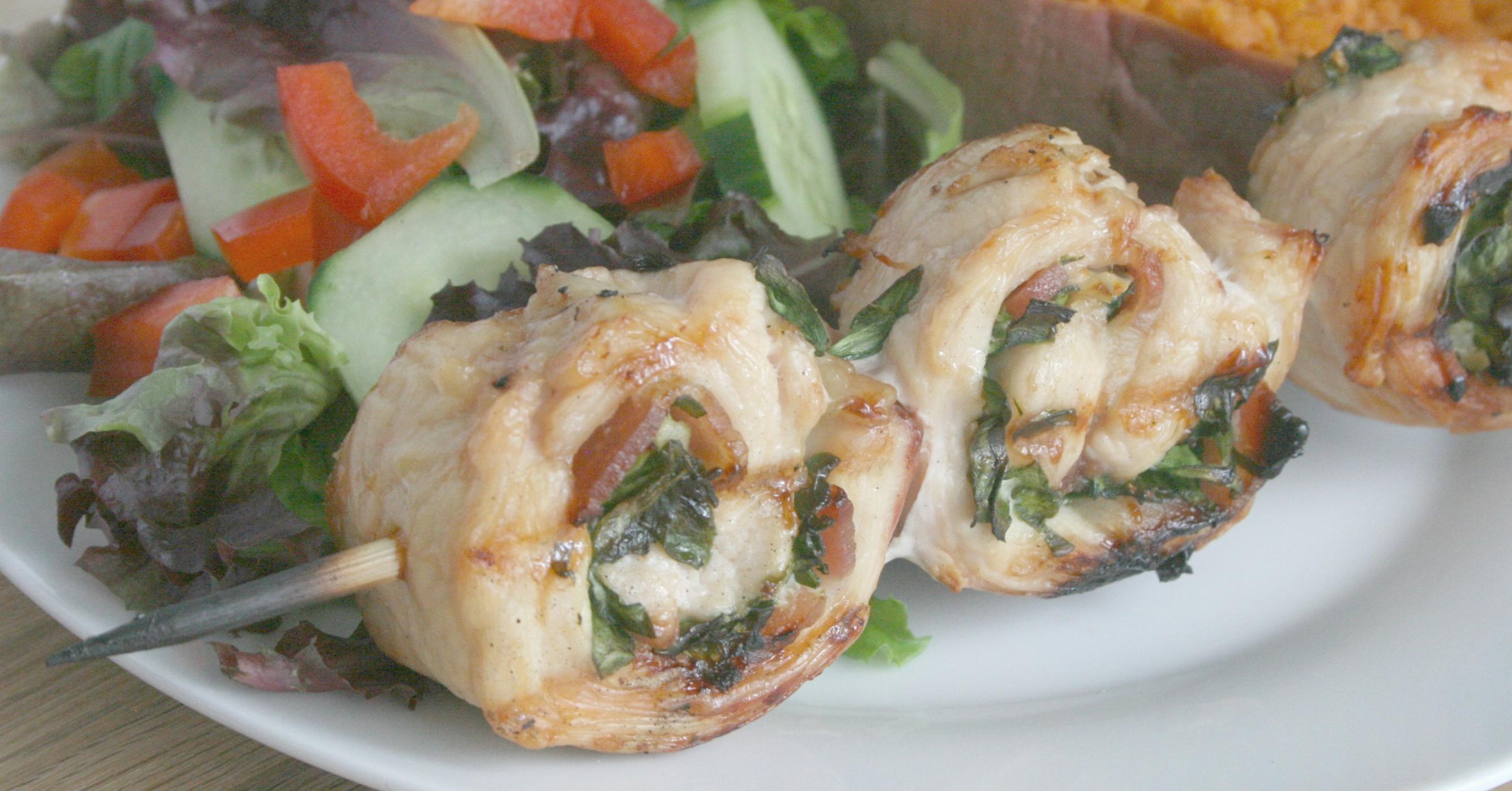 Gluten Free Dairy Free Chicken Pinwheels | Once A Month Meals