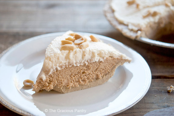 Clean Eating Peanut Butter Pie Recipe Healthy Easy Peanut Butter Pie