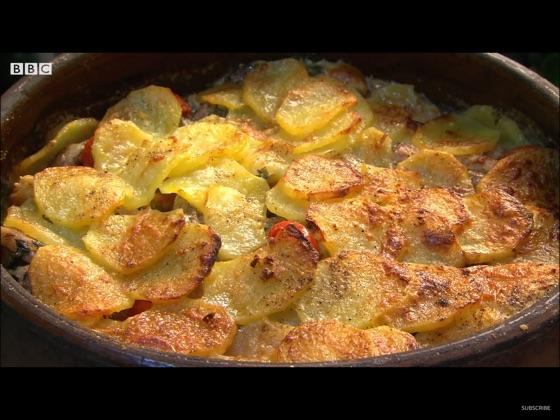 Potatoes And Lamb