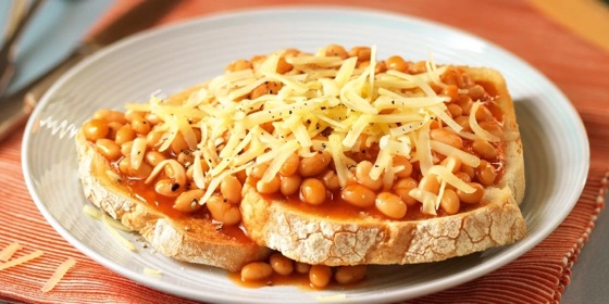 Baked Beans & Cheese on Toast