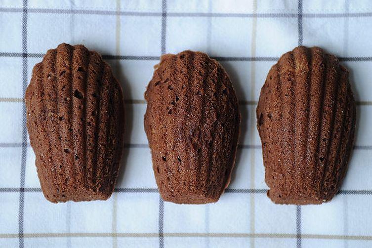 Chocolate-Orange MadeleineCookies